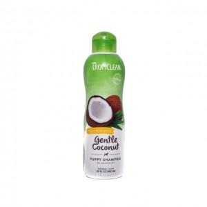 Sampon pentru caini si pisici, Tropiclean Gentle Coconut, 592 ml