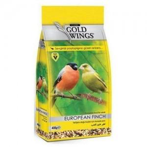 Mancare completa sticlete si cinteze, Gold Wings Classic European Finch, 400 g