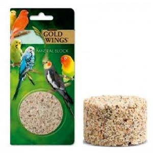 Bloc mineral pentru pasari, Gold Wings Premium Mineral Block, 86 g