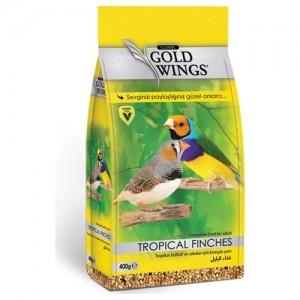 Mancare completa pentru pasari exotice, Gold Wings Classic Tropical Finch, 400 g