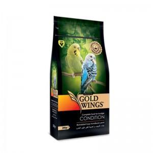 Mancare completa Premium pentru pielea si penajul perusilor, Gold Wings Premium Budgie Condition, 200 g