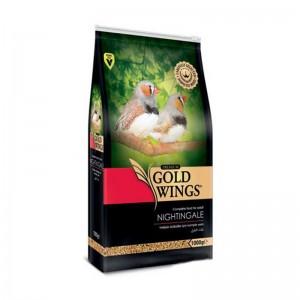 Mancare completa Premium pentru pasari exotice, Gold Wings Premium Nightingale/ Exotice, 1 kg