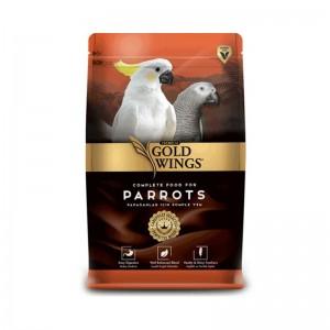 Mancare completa Premium pentru papagali mari, Gold Wings Premium Parrot, 750 g