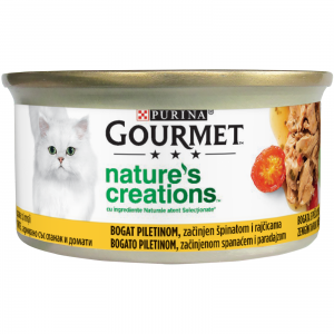 Gourmet Nature's Creations, File Pui si Tomate, 85 g