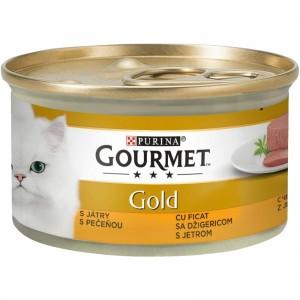 Gourmet Gold Mousse cu Ficat, 85 g