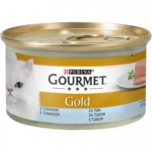 Gourmet Gold Mousse cu Ton, 85 g