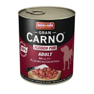 Hrana umeda caini, Grancarno Adult Dog Multifleisch-Cocktail, 800 g