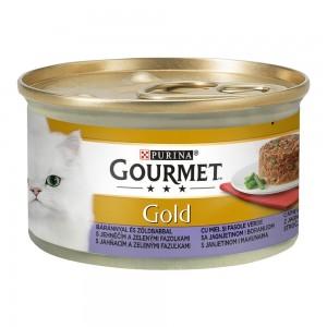 Gourmet Gold Savoury Cake, Miel si Fasole Verde, 85 g
