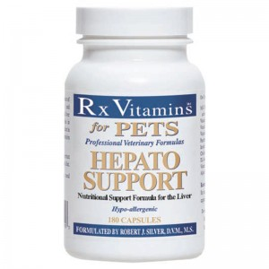 RX Hepato Support 90 capsule - reface functia ficatului la caini si pisici