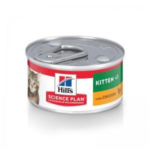 Hill's SP Kitten hrana pentru pisici cu pui 82 g (conserva)
