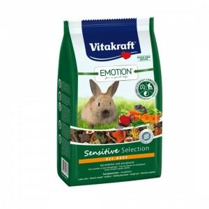 Meniu Iepuri, Vitakraft Emotion Sensitive, 600 g