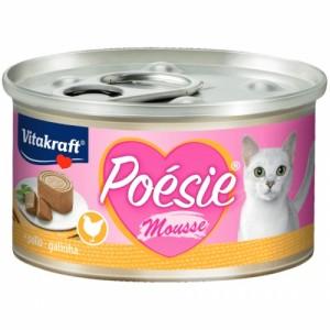Hrana umeda pisici, Vitakraft Poesie, Mousse cu Pui, 85 g