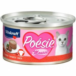 Hrana umeda pisici, Vitakraft Poesie, Mousse cu Vita, 85 g
