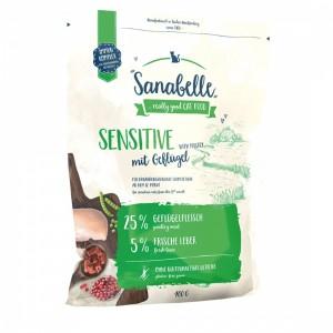 Hrana uscata pisici, Sanabelle Sensitive cu pui, 400 g