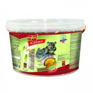 Hrana completa pentru chinchila Vitalpol, 2 kg