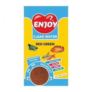 Hrana granule pesti, Enjoy Red Green, 250 ml