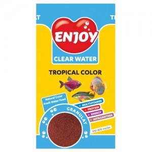 Hrana granule pesti, Enjoy, Tropical Color, 250 ml