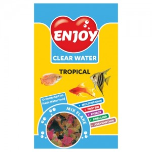 Hrana pesti, Enjoy, Tropical Mix, 250 ml