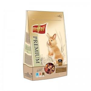 Hrana premium iepuri Vitalpol, 900 g