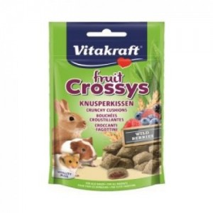 Recompense rozatoare, Vitakraft Fruit Crossys Snack Wildberry, 50 g