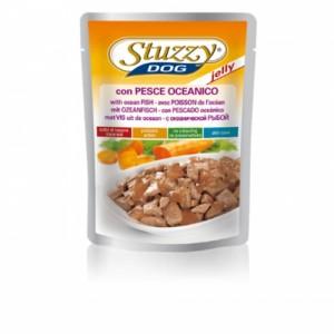 Hrana umeda caini, Stuzzy cu peste oceanic, 100 g