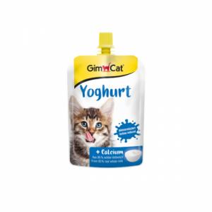 Hrana umeda pentru pisici, Gimcat Iaurt, 150 g