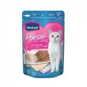 Hrana umeda pisici, Vitakraft Plic Poesie, Cod in Sos, 85 g