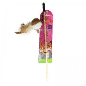 Jucarie Paiatze Cat Undita Minge, 40 cm