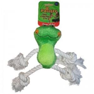 Jucarie Paiatze Dog Broasca, verde, 24 cm