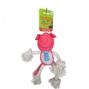 Jucarie Paiatze Dog Porcusor, roz, 30 cm