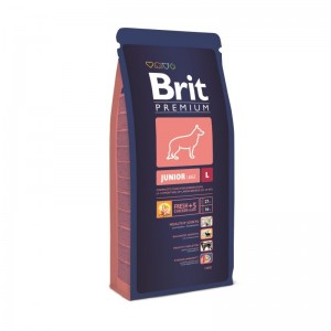 Brit Premium Junior Large, 15 kg