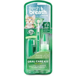Oral Care Kit for Cats, 59 ml