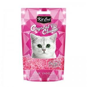 Kit Cat Crystal Clump Pink Vanilla, 4 l