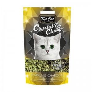 Kit Cat Crystal Clump Sparkling Charcoal, 4 l