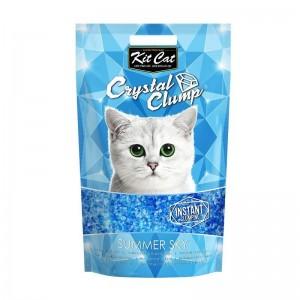 Kit Cat Crystal Clump Summer Sky, 4 l