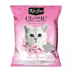 Kit Cat Litter Cherry Blossom, 10 l