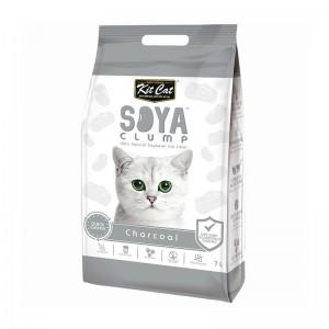 Kit Cat SoyaClump Charcoal, 7 l