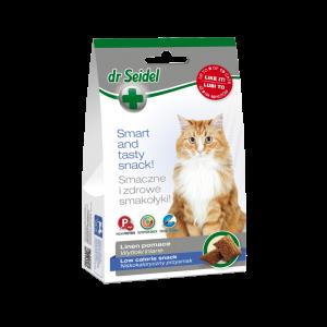 Dr. Seidel, Cat Snack Low Calorie, 50 g