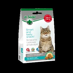 Dr. Seidel Cat Snack pentru seniori, 50 g