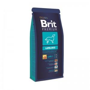 Brit Premium Lamb & Rice, 15 kg