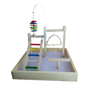 Ansamblu de joaca pentru pasari, 43x43x30 cm
