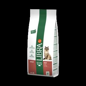 Libra Cat Adult Beef, 15 kg