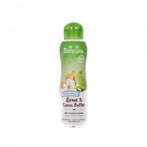 Balsam pentru caini si pisici, Tropiclean Lime & Cocoa Butter, 355 ml