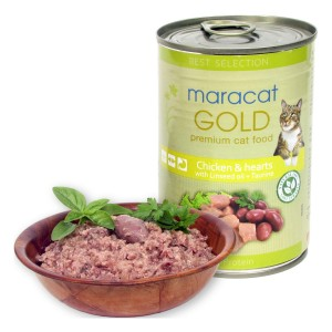 Maracat Gold Pui si Inima, 400 g