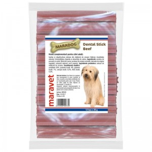 Maradog Dental stick Beef, 12 bucati