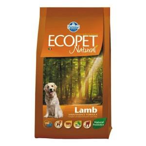 Ecopet Natural Dog Adult Miel si Orez 12 Kg
