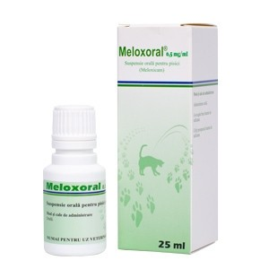Meloxoral, 25 ml, 0.5 mg/ml