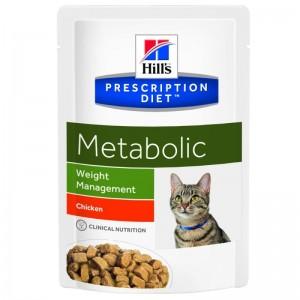 Hill's PD Metabolic Weight Management hrana pentru pisici 85 g (plic)