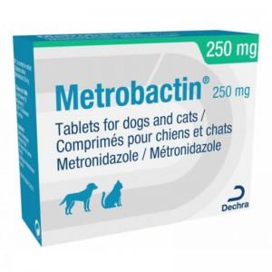 Metrobactin 250 mg, 20 comprimate