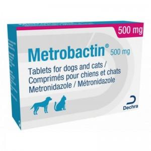 Metrobactin 500 mg, 20 comprimate